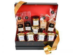 Coffret 10 délices salés sucrés saveur cognac