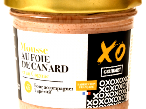 Mousse de foie de canard ua cognac