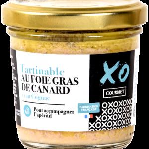 Tartinable foie gras de canard et au Cognac