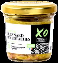 Terrine de canard aux pistaches et au cognac