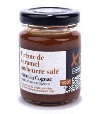 Crème caramel chocolat cognac xo