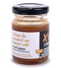 Crème de caramel au beurre salé et au cognac