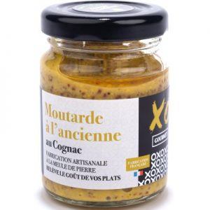 Moutarde à l'ancienne au Cognac