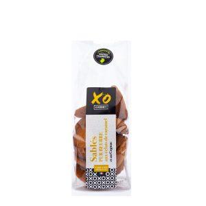 Sablé pur beurre caramel et cognac XO Gourmet