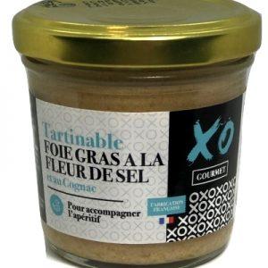 Tartinable foie gras à la fleur de sel