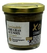 Tartinable foie gras au noix