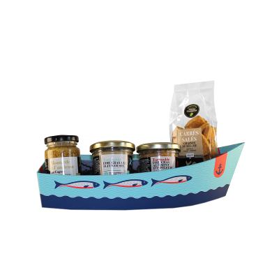 Barque 4 saveurs salees moutarde aux aromes de cognac