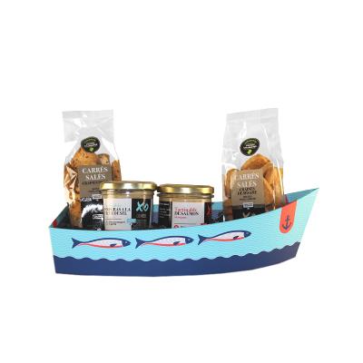 Barque saveur de la mer aux aromes de cognac