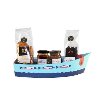 Barque sucree 4 aux aromes de cognac