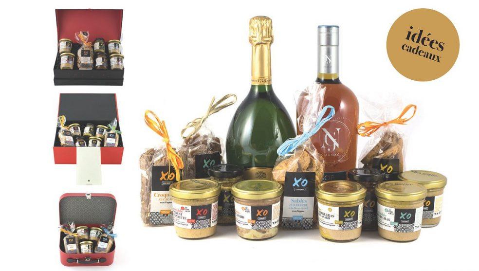 offret cadeau XO Gourmet sucrés salés aux arômes de cognac