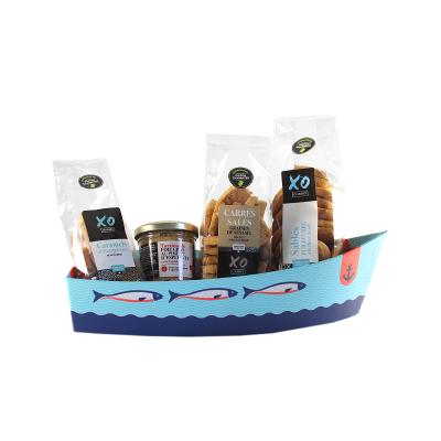 Barque 4 saveurs aux aromes de cognac