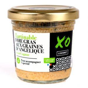 Foie gras aux graines d'angélique et au cognac
